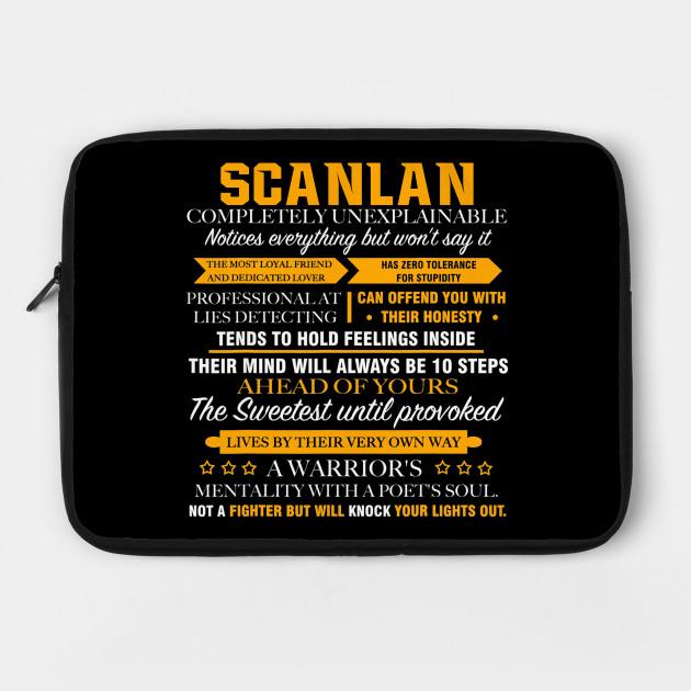 SCANLAN Completely Unexplainable Shirt Name