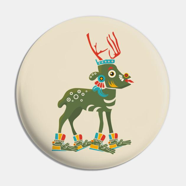 Aztec Deer Mazatl