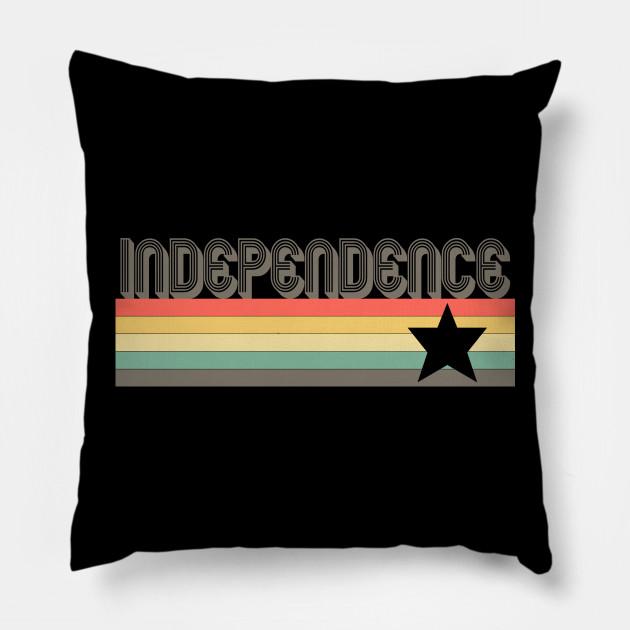 Independence T-Shirt City Vintage Retro 70s 80s Missouri Tee Gift