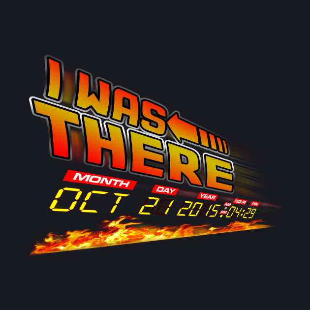 Be ready for Back to the future day