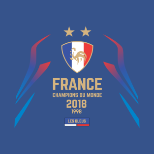 France Champions Du Monde 2018 T Shirts Teepublic