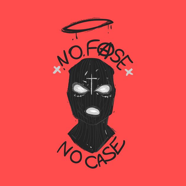 No Face no Case Balaklava face Hoodie, Tank, Crewneck