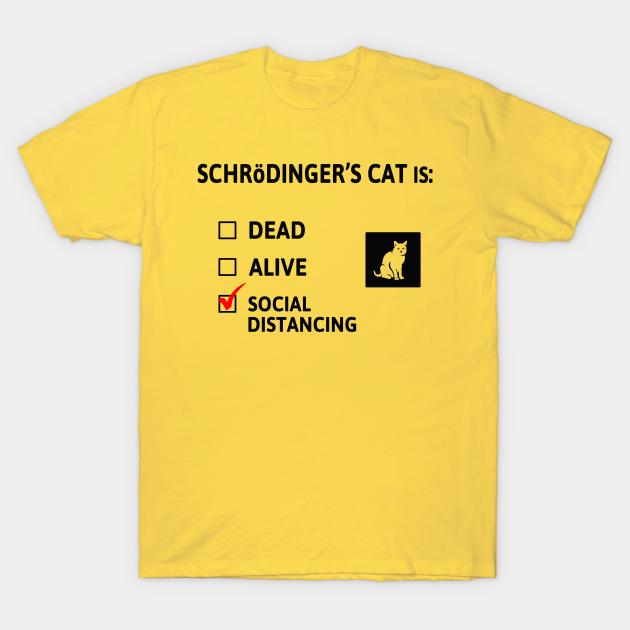 Schrödinger's Cat T-Shirt EMP