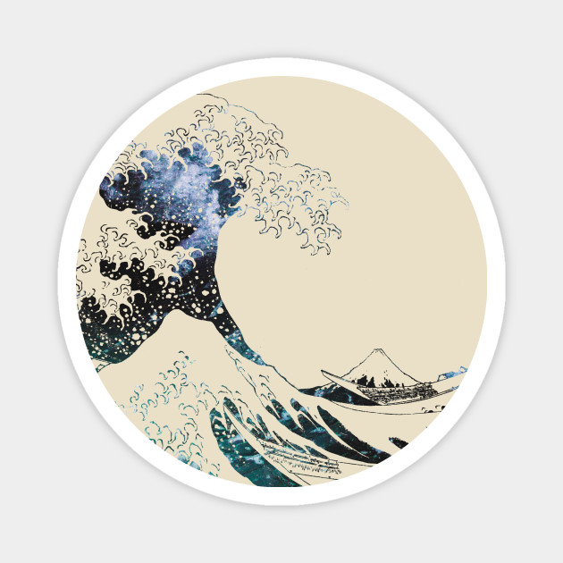 The Great Wave off Kanagawa-Ocean Waves