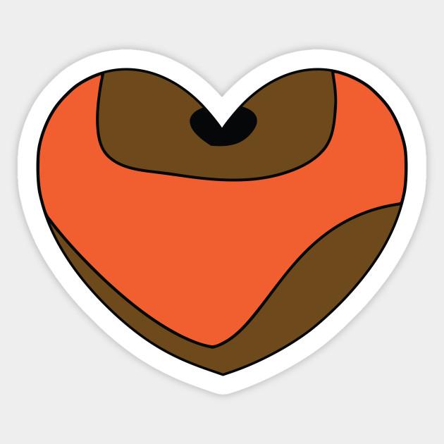 Wicket Character Heart Star Wars Sticker Teepublic