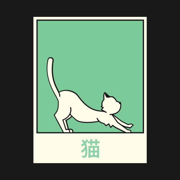 neko cute kawaii japanese anime cat anime tote teepublic