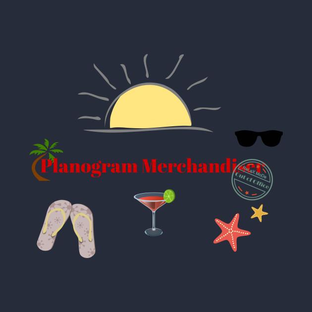 Planogram Merchandiser on beach holiday