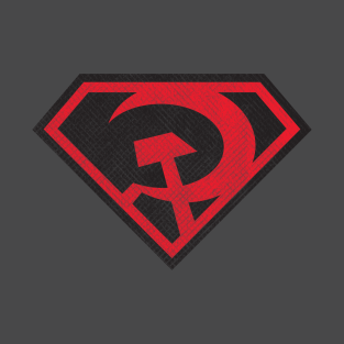 Red Son Superman - Distressed t-shirts