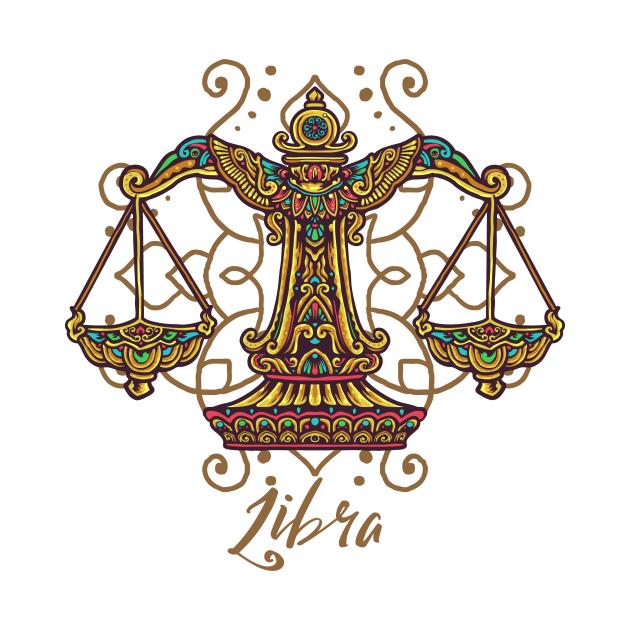 Libra Zodiac Sign Scales