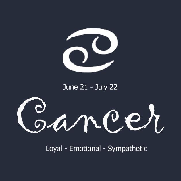 Cancer astrological sign design