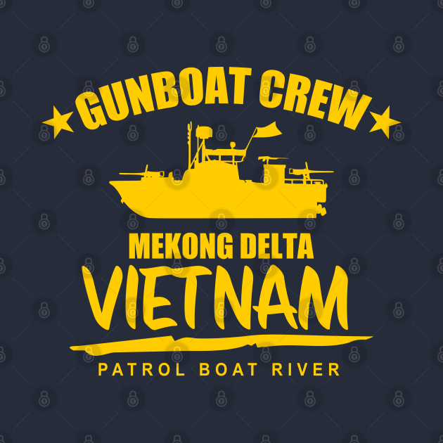 Gunboat Crew Mekong Delta Vietnam