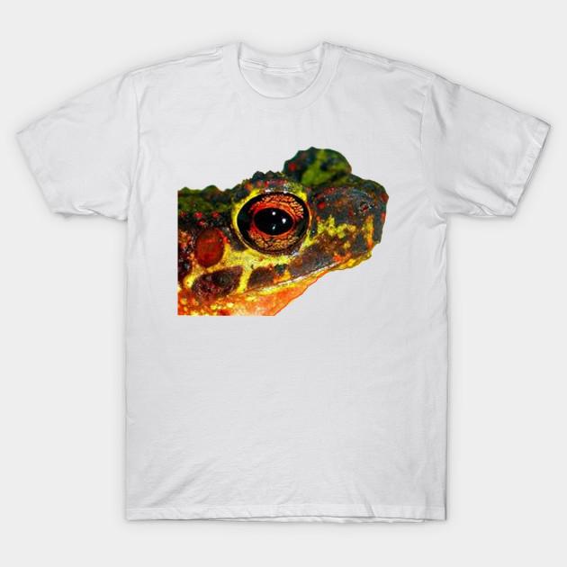 83a606c8 Croak - Frog - T-Shirt   TeePublic