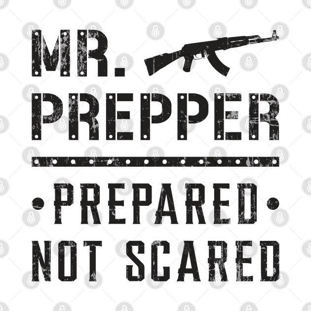 Survival Prepper Doomsday Prepping Virus Gift