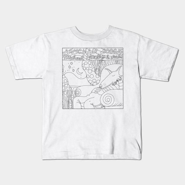 72aa7e95 ARMCHAIR BOOGIE - Michael Hurley - Kids T-Shirt | TeePublic