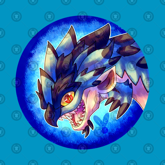 Huntable Monsters - Azure Rathalos