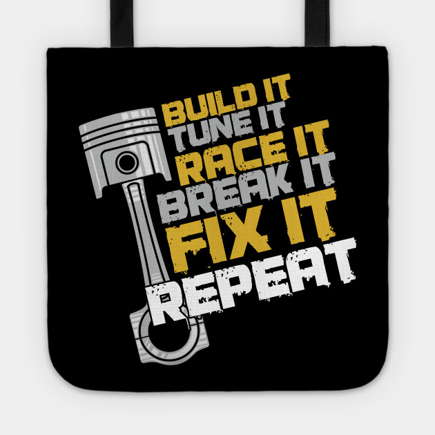 Auto Car Racing Professional Racer Gifts Build It Tune It Race It Mechanic