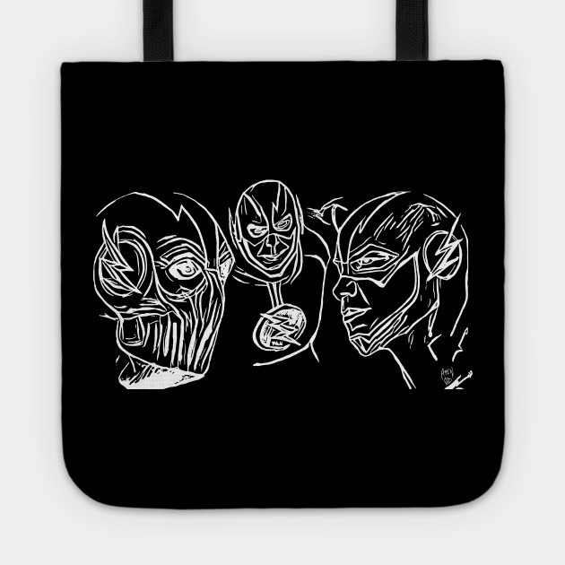 The Flash Zoom Reverse Flash Whi The Flash Tote Teepublic