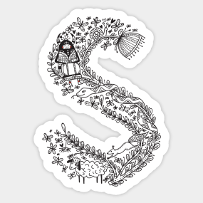 Letter s stickers teepublic related tags letter s thecheapjerseys Image collections