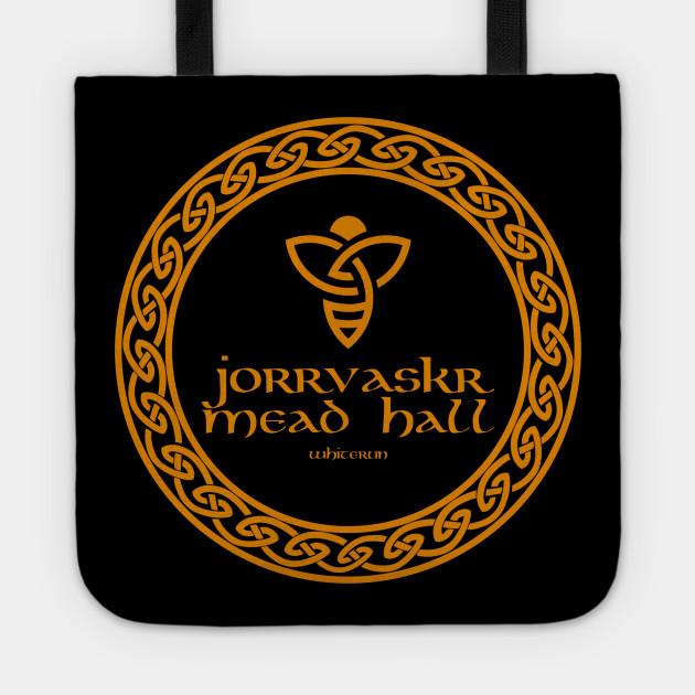 Jorrvaskr Mead Hall Skyrim Tote Teepublic