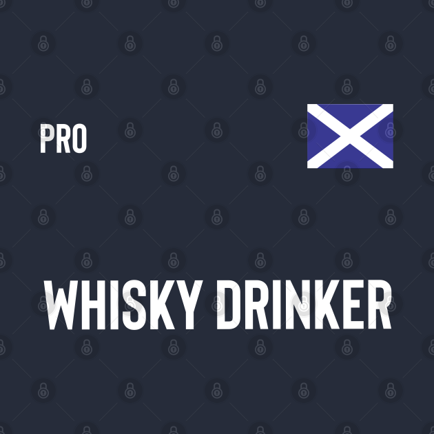 Pro whisky drinker scotland football soccer