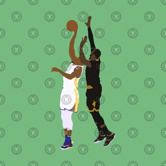 b8b3f513563d LeBron James Block On Andre Iguodala - Lebron James - T-Shirt | TeePublic
