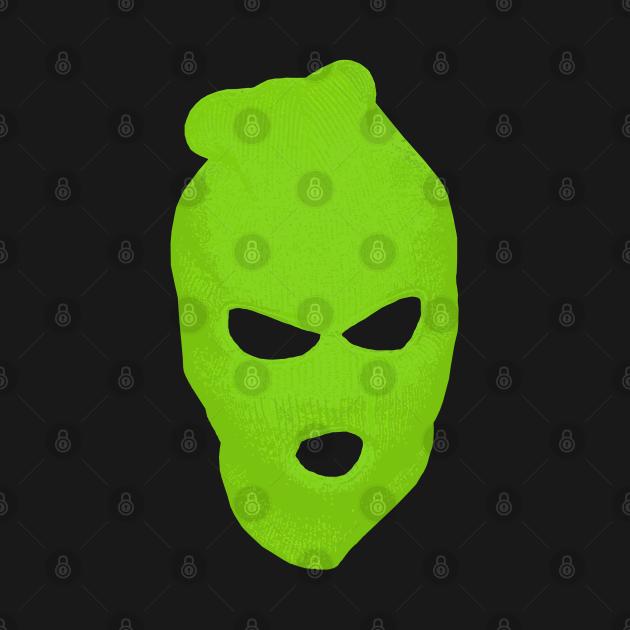 BLANK FACE GREEN