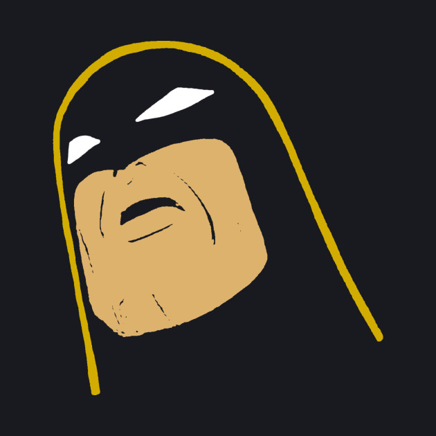 Space Ghost - Tilted Head - Colored Clean