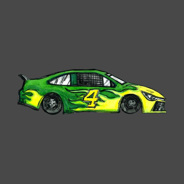 Green Racecar #4