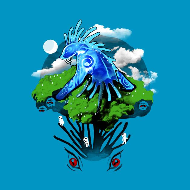 Mononoke Tree T-Shirt
