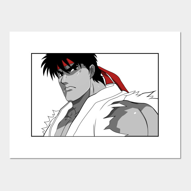 Street Fighter Ryu Street Fighter Posters And Art Prints