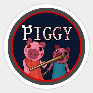 Piggy Roblox Stickers Teepublic