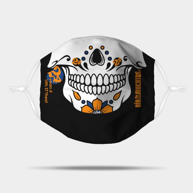 Día de los Muertos 2021 Mask - 24th Year Anniversary Edition