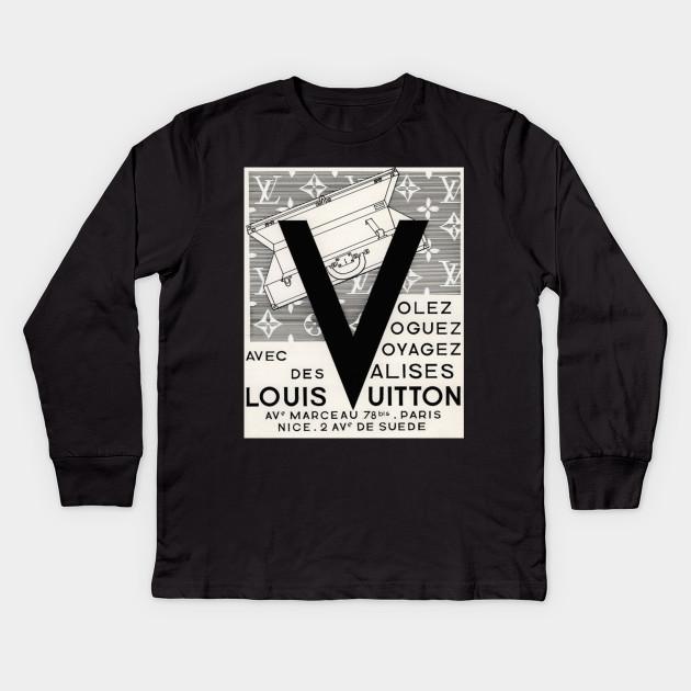 8d754a74d6d Fun Louis Vuitton Poster - Fun Louis Vuitton - Kids Long Sleeve T ...