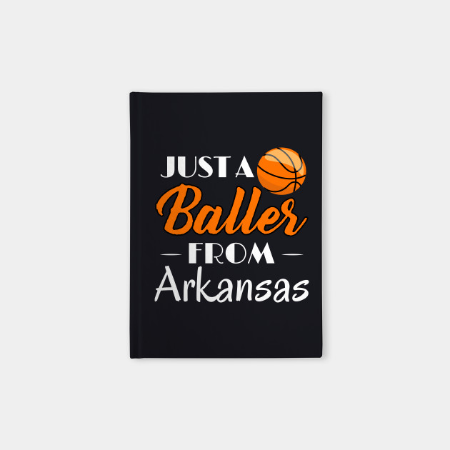 Just a Baller from Arkansas Basketball Player T-Shirt