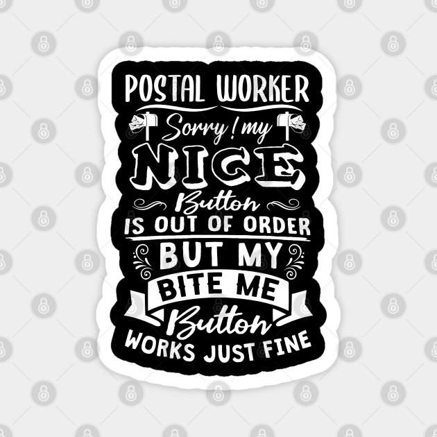 Funny Postal Worker Postal Gift Funny Postal Worker Postal