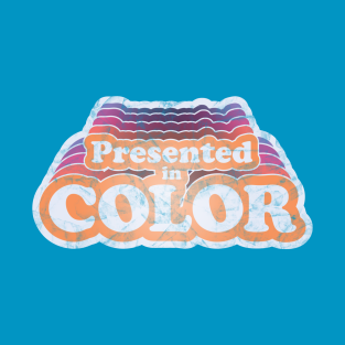 Presented in Color t-shirts