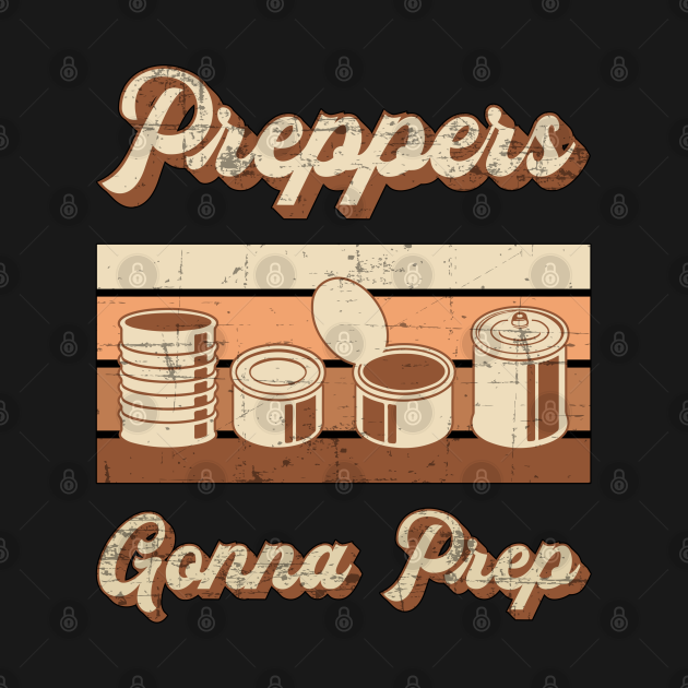 Prepper Cans Survival Canning Food Gift