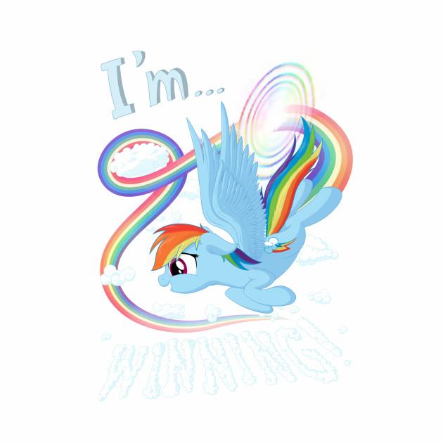 I'm... Rainbow Dash