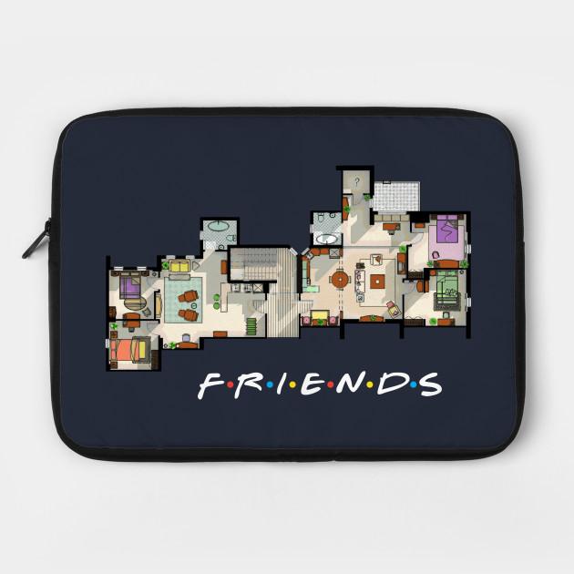 Friends Apartment Floor Plan
