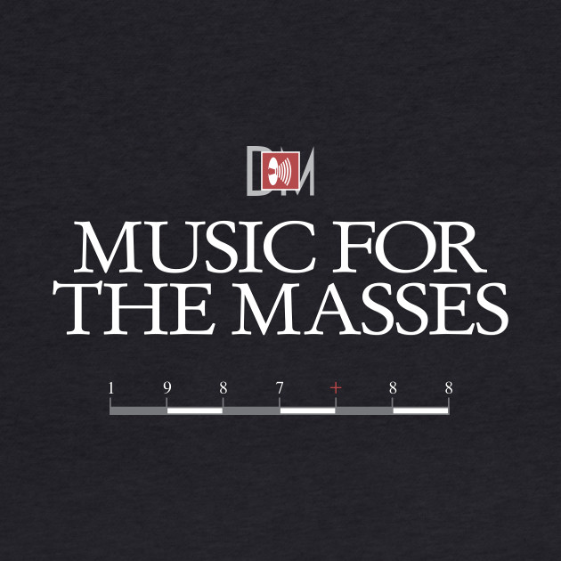 DM : Music For The Masses Title