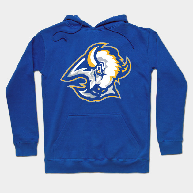 7f63c160b Goathead in Blue and Gold - Buffalo Sabres - Hoodie