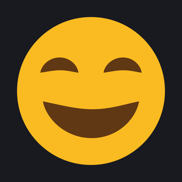 Happy and Laughing Emoji • Cool & Funny Design