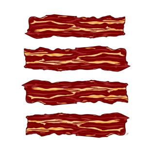 Bacon Bacon Bacon Bacon t-shirts
