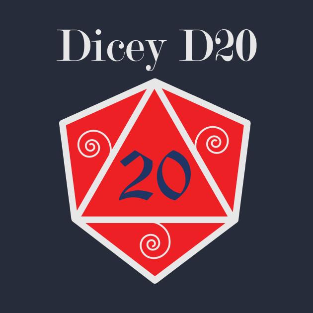 Dicey D20 Logo