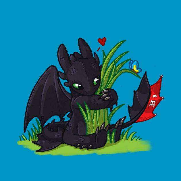 Dragons Love Grass