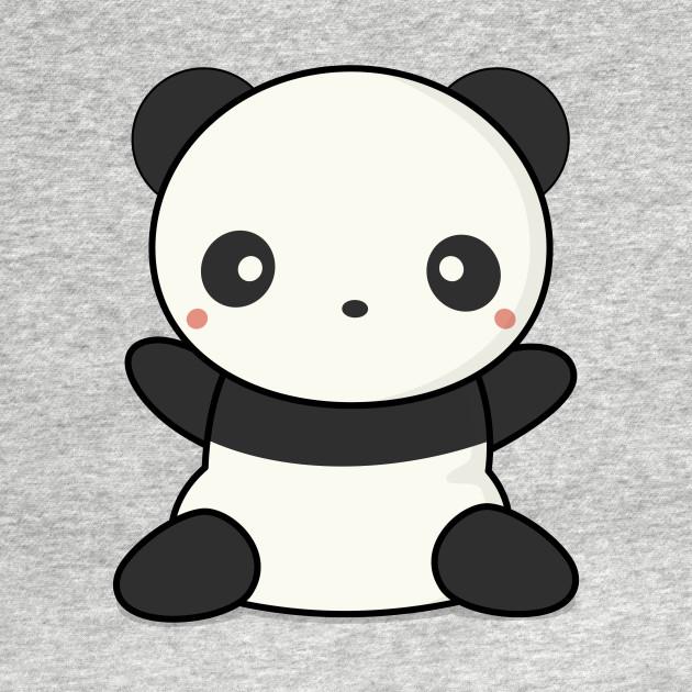 Lovely Cute Kawaii Panda Wants To Hug