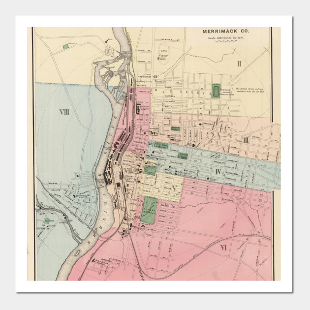 Vintage Map of Manchester New Hampshire (1877) on mall of la map, mall of ga map, mall of new hampshire map, newington mall map, mall of florida map, mall of manhattan map, fox run mall map, mall of millenia store map,