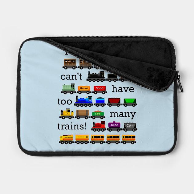 too manny trains