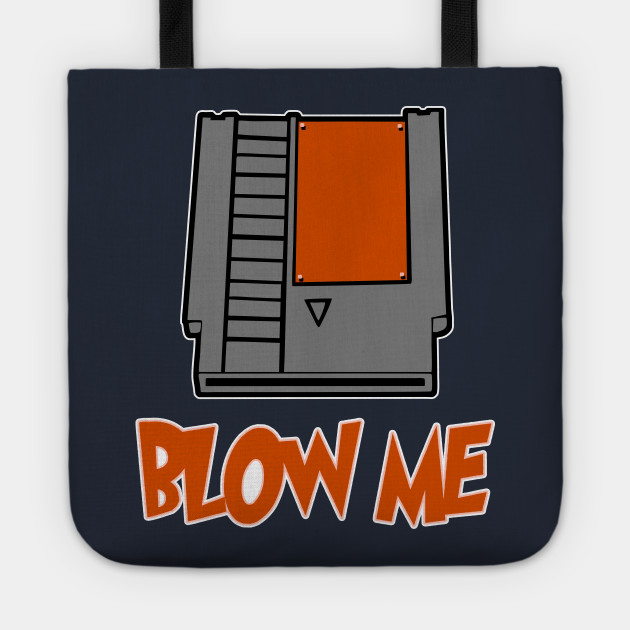 Blow Me Tee Shirt Nintendo Game Funny Design Art Gift for Gamer