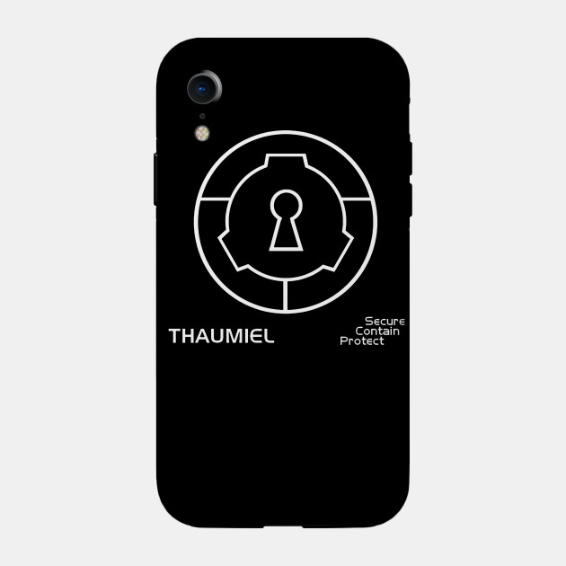 Thaumiel Scp Phone Case Teepublic See what thaumiel (xthaumiel) has discovered on pinterest, the world's biggest collection of ideas. thaumiel